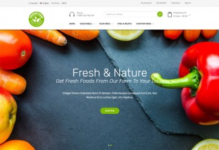 Greenfarm – Premium Responsive Organic Food Prestashop Theme