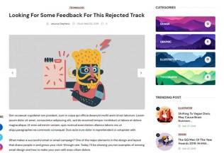 Gute – Premium Responsive Minimalist Blog HTML5 Template