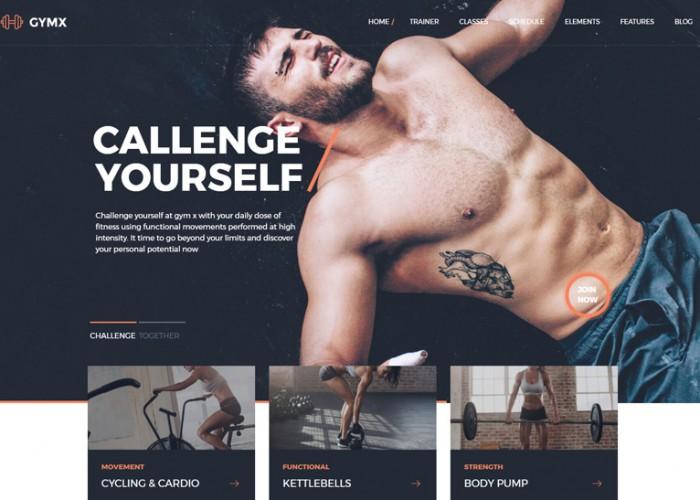 Gym X – Premium Responsive Fitness, Gym & Sports WordPress Theme