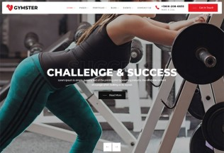 Gymster – Premium Responsive Fitness & Gym WordPress Theme