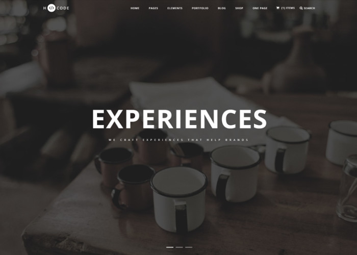 H-Code – Premium Responsive MultiPurpose One/Multi Page HTML5 Template