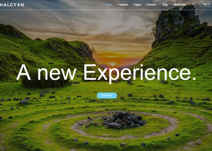 Halcyon – Premium Responsive Multipurpose Modern HTML5 Template