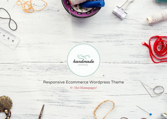 Handmade – Premium Responsive Shop WordPress WooCommerce Theme