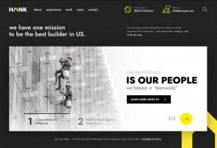 Hank – Premium Responsive Construction Company WordPress Theme