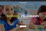 Happy Learning – Premium Responsive Primary School WordPress Theme