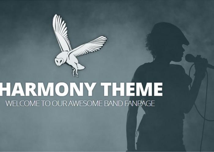 Harmony – WordPress Premium Responsive Theme with Parallax Scrolling