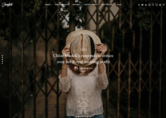Harmuny – Premium Responsive Modern Blog WordPress Theme