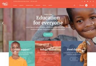 HaveHeart – Premium Responsive Fundraising Charity WordPress Theme