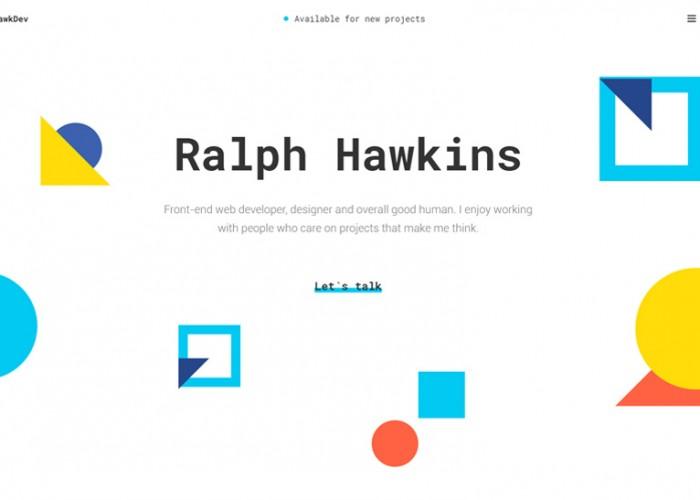 HawkDev – Premium Responsive Web Developer Portfolio HTML5 Template