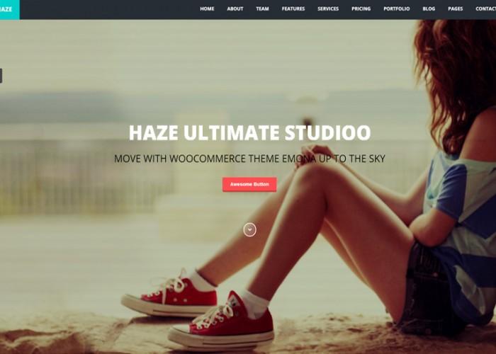Haze – Premium Responsive One Page Parallax Joomla Template