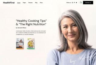 HealthFirst – Premium Responsive Nutrition & Recipes WordPress Theme