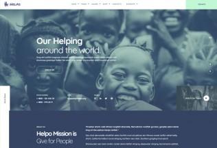Helpo – Premium Responsive Fundraising & Charity WordPress Theme