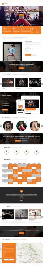 4 Best Responsive WordPress Gym and Fitness Themes in 2014