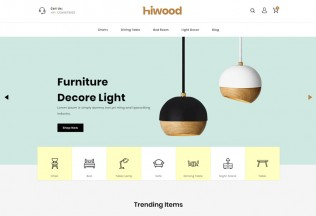 Hiwood – Premium Responsive Furniture Prestashop Theme