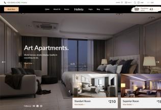 Holleta – Premium Responsive Hotel Booking WordPress Theme