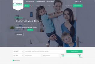 Homex – Premium Responsive Real Estate HTML5 Template