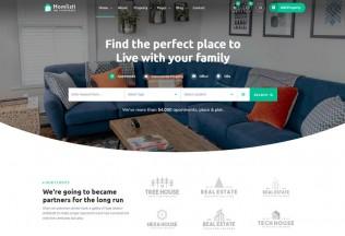 Homlisti – Premium Responsive Real Estate WordPress Theme