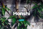 Honshi – Premium Responsive Creative Multipurpose WordPress Theme