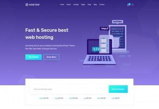 Hostar – Premium Responsive Web Hosting WordPress Theme
