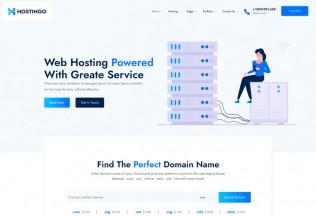 Hostingo – Premium Responsive Hosting & WHMCS WordPress Theme