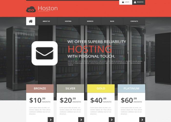 Hoston – Premium Resposnive Hosting HTML5 Template