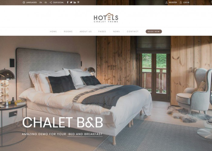 Hotel Booking – Premium Responsive Hotel WordPress Theme