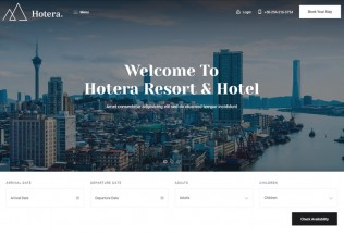 Hotera – Premium Responsive Resort and Hotel WordPress Theme