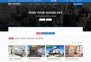 HouseKey – Premium Responsive Real Estate HTML5 Template
