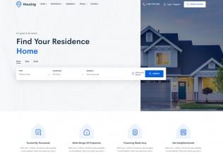 Houzing – Premium Responsive Real Estate WordPress Theme