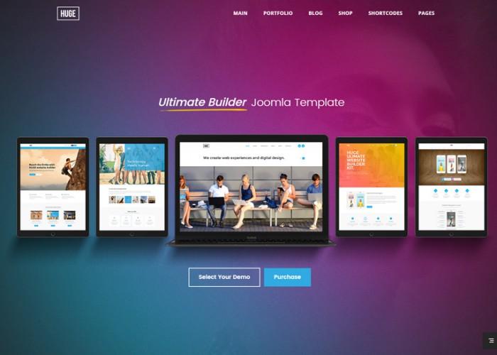 Huge – Premium Responsive Multipurpose Joomla Template