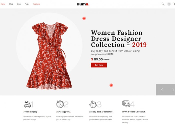 Huma – Premium Responsive Fashion eCommerce WordPress Theme