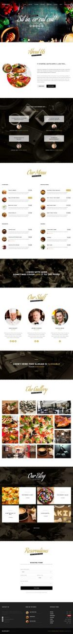 10+ Best Responsive WordPress Cafe and Bar Themes and Templates in 2015