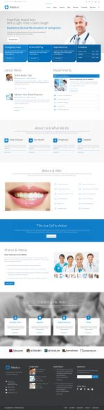15+ Best Responsive Medical and Healthcare WorPress Themes in 2015