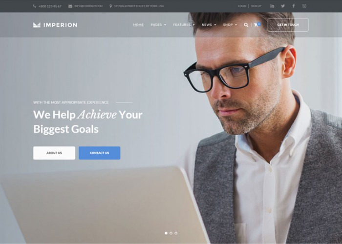 Imperion – Premium Responsive Multipurpose WordPress Theme