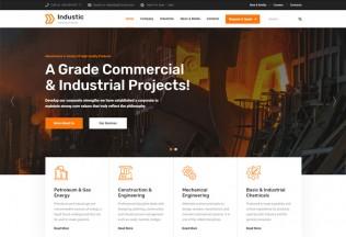Industic – Premium Responsive Manufacturing WordPress Theme