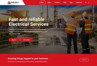 Induxe – Premium Responsive Factory & Industry WordPress Theme