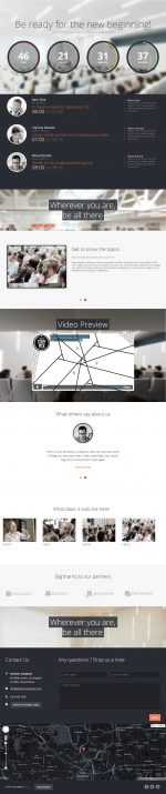 Best Responsive Parallax Scrolling Drupal Themes 2013