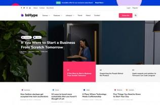 InHype – Premium Responsive Blog & Magazine WordPress Theme