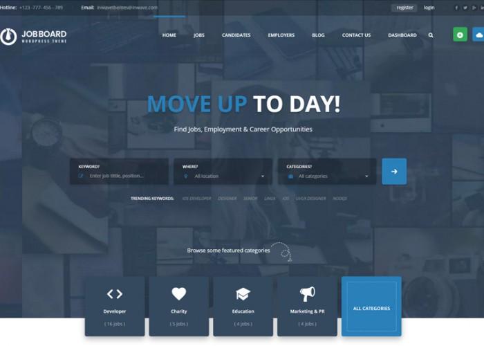 InJob – Premium Responsive Job Board WordPress Theme