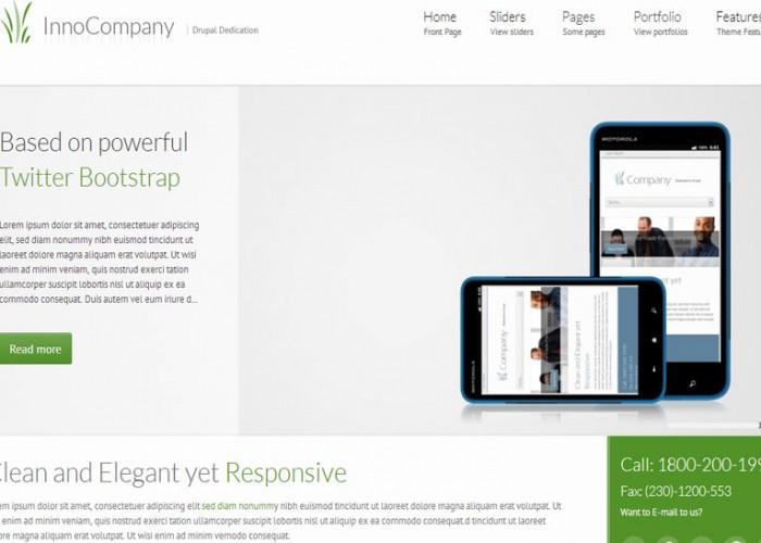 InnoCompany – Drupal Premium Responsive Theme