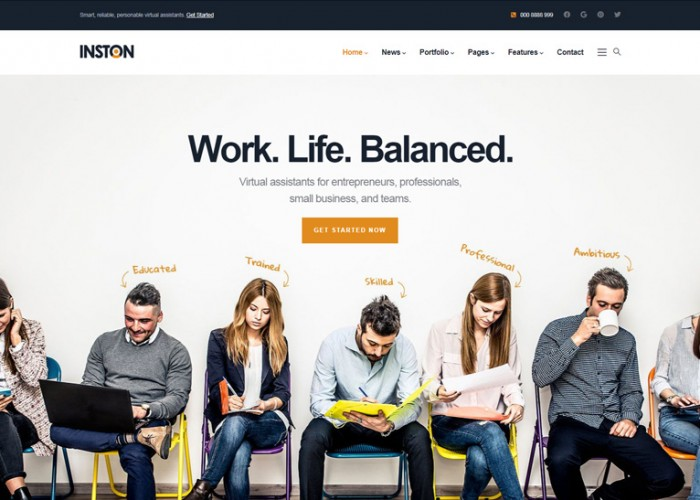 Inston – Premium Responsive Multipurpose Business Drupal 9 Theme