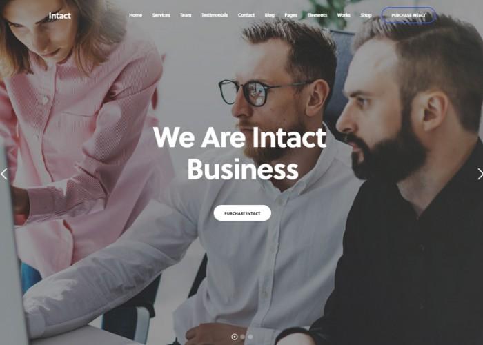Intact – Premium Responsive MultiPurpose WordPress Theme