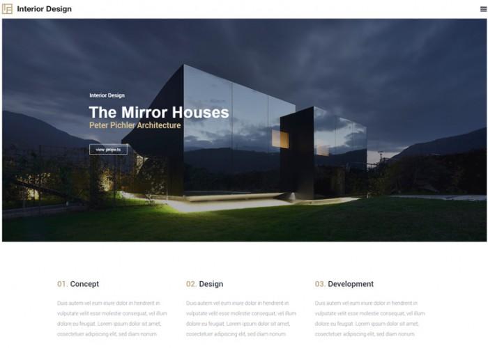 Interior Design – Premium Responsive Architecture & Design WordPress Theme