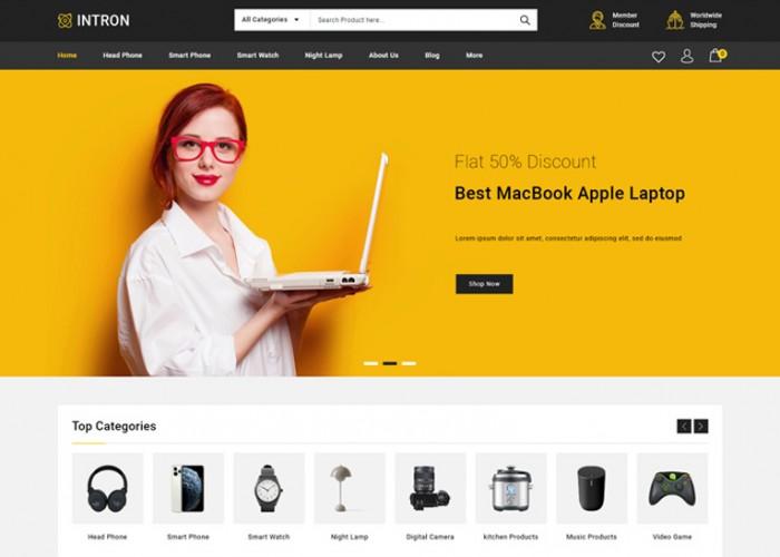 Intron – Premium Responsive Mega Electronics Prestashop 1.7 Theme