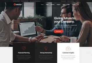 Investor – Premium Responsive Finance and Investment Joomla Template