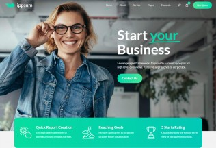 Ippsum – Premium Responsive Business Consulting WordPress Theme