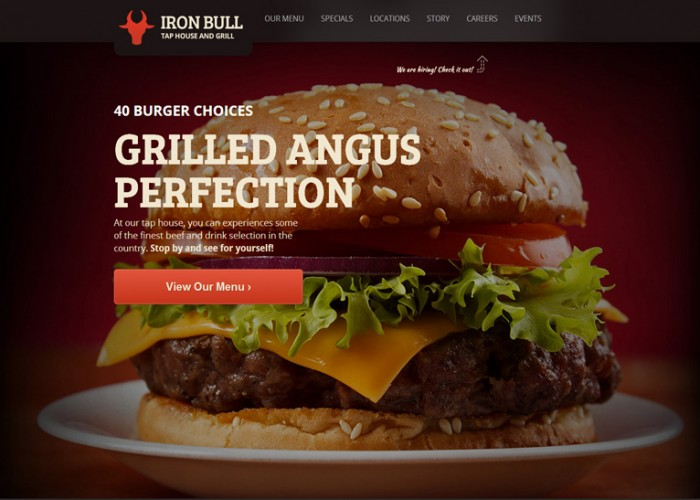Iron Bull – Premium Responsive Restaurant WordPress Theme