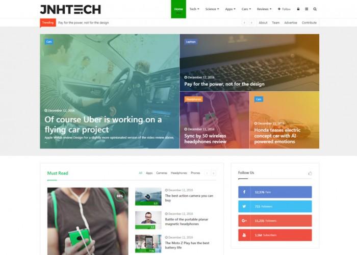 Jannah – Premium Responsive News Magazine Blog & BuddyPress WordPress Theme