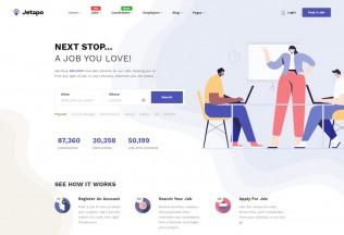 Jetapo – Premium Responsive Job Board WordPress Theme