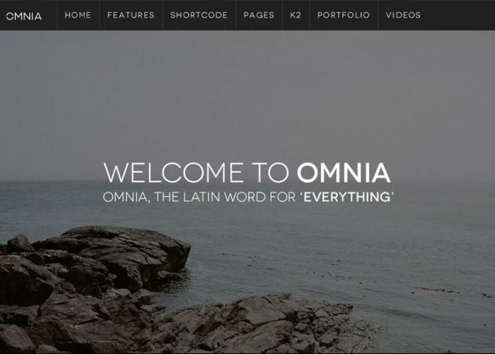 JM Omnia – Premium Responsive Multipurpose Joomla Template
